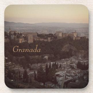 Porta-copo Granada, portas copos do plástico da foto da