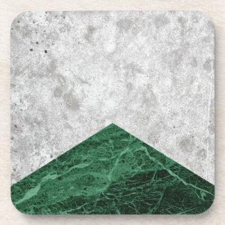 Porta-copo Granito concreto #412 do verde da seta