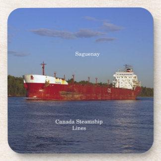 Porta-copo Grupo de Saguenay de 6 portas copos plásticas