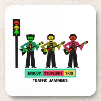 Porta-copo Guitarristas temperamentais 2 do Mustachio do trio