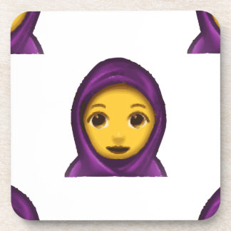 Porta-copo hajib do emoji
