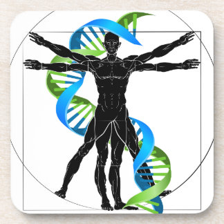 Porta-copo Homem do ADN Vitruvian