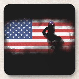Porta-copo Honre nossos heróis no Memorial Day