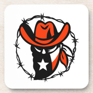 Porta-copo Ícone foragido do fio de Barb da bandeira de Texas