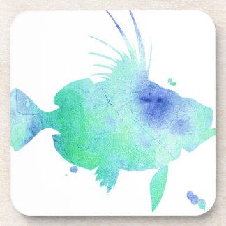 Porta-copo Impressão feito sob encomenda dos peixes do Aqua