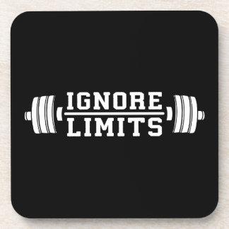 Porta-copo Inspiração do exercício - ignore limites -