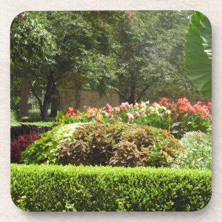 Porta-copo jardim bonito
