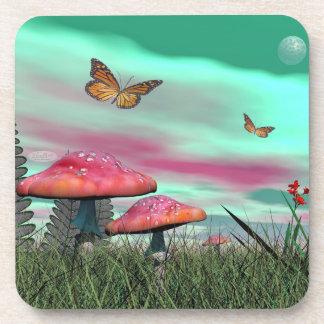 Porta-copo Jardim da fantasia - 3D rendem