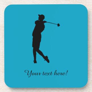 Porta-copo Jogador de golfe