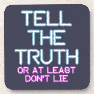 Porta-copo Jordão Peterson: Diga a verdade…