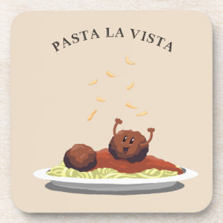 "Porta-copo La Vista massa do Meatball feliz da ""! """