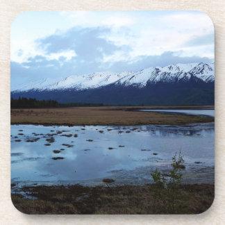 Porta-copo Lago na estrada de Maud