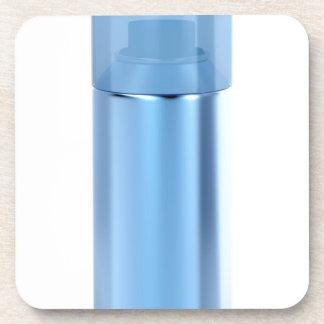 Porta-copo Lata de pulverizador azul do aerossol