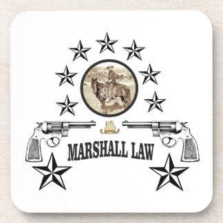 Porta-copo lei das armas e do marechal do cavalo