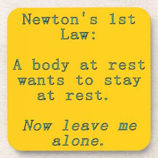 Porta-copo Lei de Newton a ?a