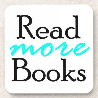 Porta-copo Leia mais livros