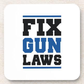 Porta-copo Leis da arma do reparo