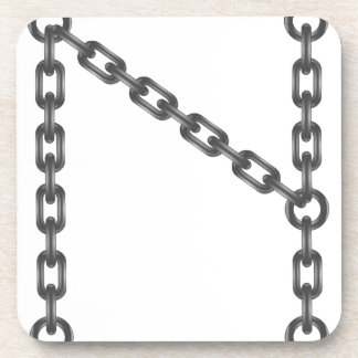 Porta-copo letra chain