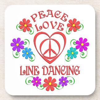 Porta-copo Linha de amor dança da paz