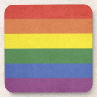 Porta-copo Listras do arco-íris