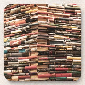Porta-copo Livros