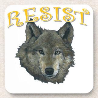 Porta-copo Lobo da resistência