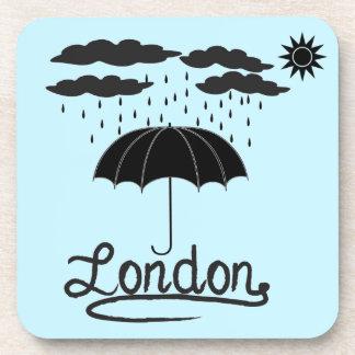 Porta-copo Londres | sob um guarda-chuva