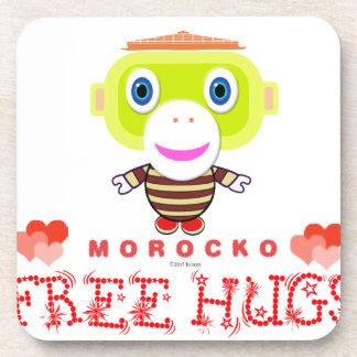 Porta-copo Macaco-Morocko Abraço-Bonito livre