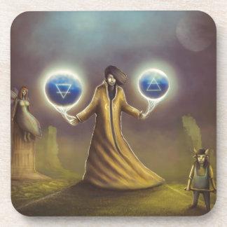 Porta-copo mágica da fantasia do feiticeiro