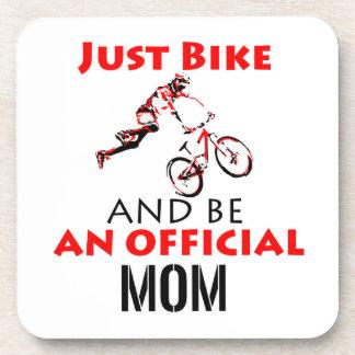 Porta-copo Mamã engraçada do ciclismo