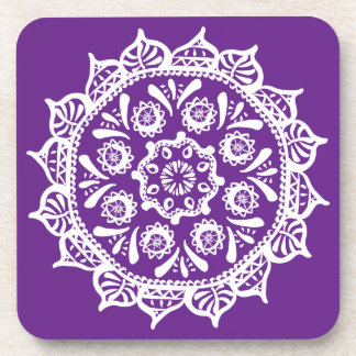 Porta-copo Mandala da beringela
