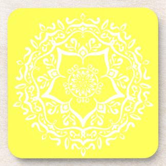 Porta-copo Mandala do limão