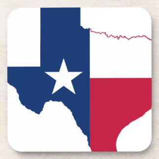 Porta-copo Mapa da bandeira de Texas