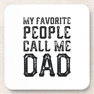 Porta-copo Minhas pessoas favoritas chamam-me pai
