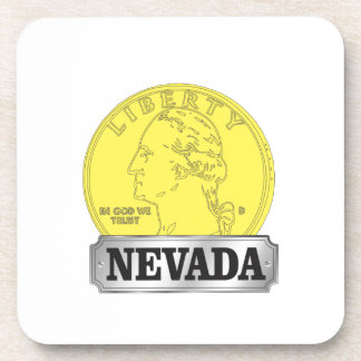 Porta-copo Moeda de ouro de Nevada