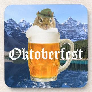 Porta-copo Montanhas bonitos de Oktoberfest do Chipmunk