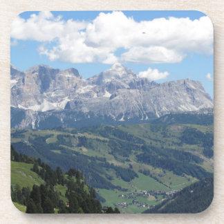 Porta-copo Mountain View das dolomites italianas no verão