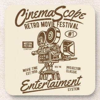 Porta-copo Movimento retro clássico da câmera de Hollywood do