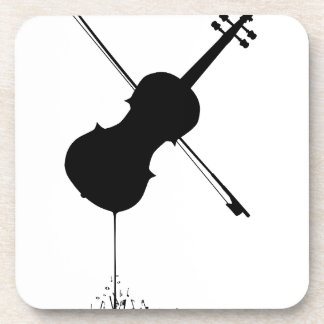 Porta-copo Música de fluxo do violino