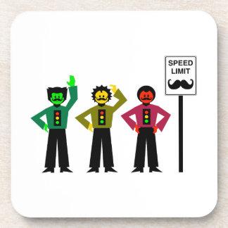 Porta-copo Mustachio temperamental do limite de velocidade do