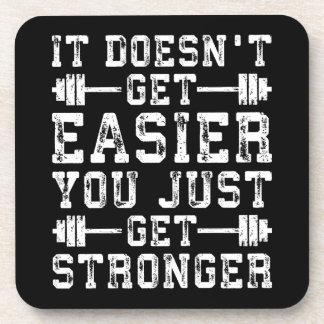 Porta-copo Não obtem mais fácil, você apenas obtem mais forte