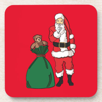 Porta-copo Natal Papai Noel