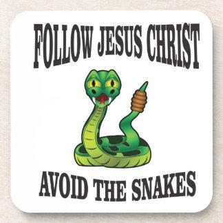 Porta-copo Nenhuns cobras com JC
