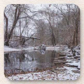 Porta-copo Neve do inverno de Finley