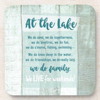 Porta-copo No lago