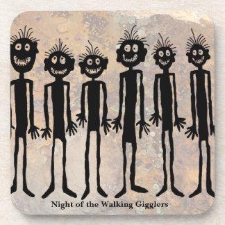 Porta-copo Noite do Petroglyph de passeio de Gigglers