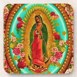 Porta-copo Nossa Virgem Maria mexicana do santo da senhora