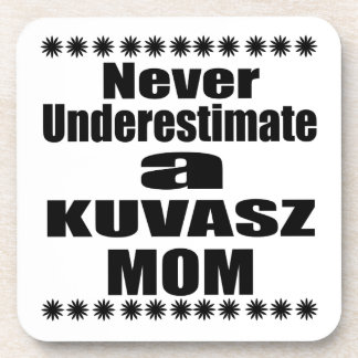 Porta-copo Nunca subestime a mamã de KUVASZ