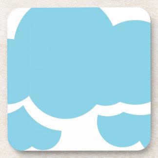 Porta-copo Nuvens azuis