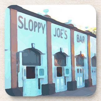 Porta-copo O bar de Joe superficial